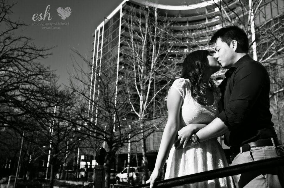 Rachelle & Steve's –  Engagement Photography – Canberra City