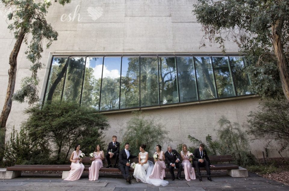 Hannah & Anthony's Wedding Photography Old Parliament House Canberra