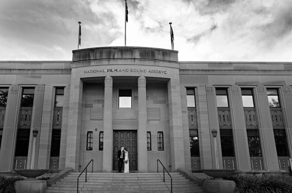Tim & Louise's wedding photography Queanbeyan NSW