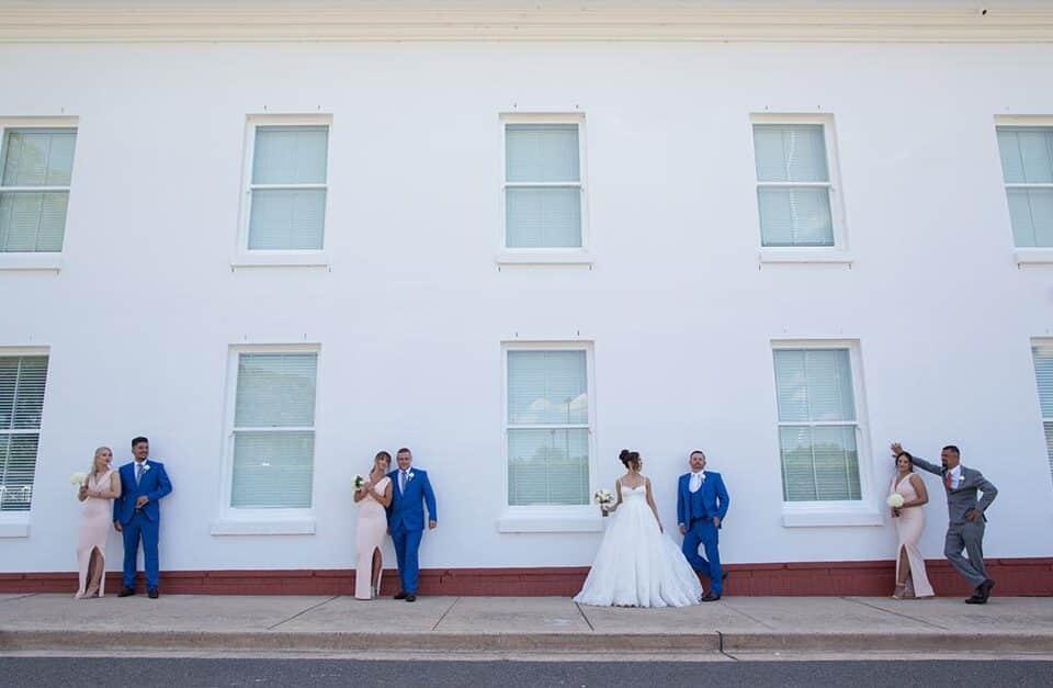Canberra wedding photography – Rhiannon & Sam – Hellenic Club